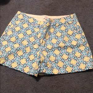 Crown and ivy printed shorts